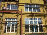 Установка пластиковых окон Rehau70 со шпросами в Мариуполе
